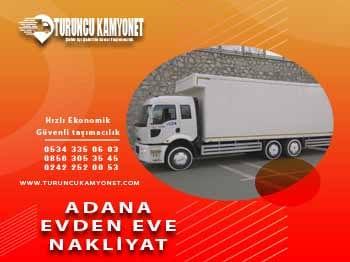 Antalya Adana Evden Eve Nakliyat