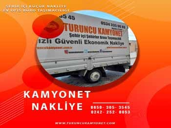 Antalya Eşya Taşıma Hizmeti
