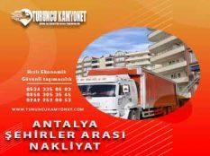 Antalya şehirlerarası nakliye